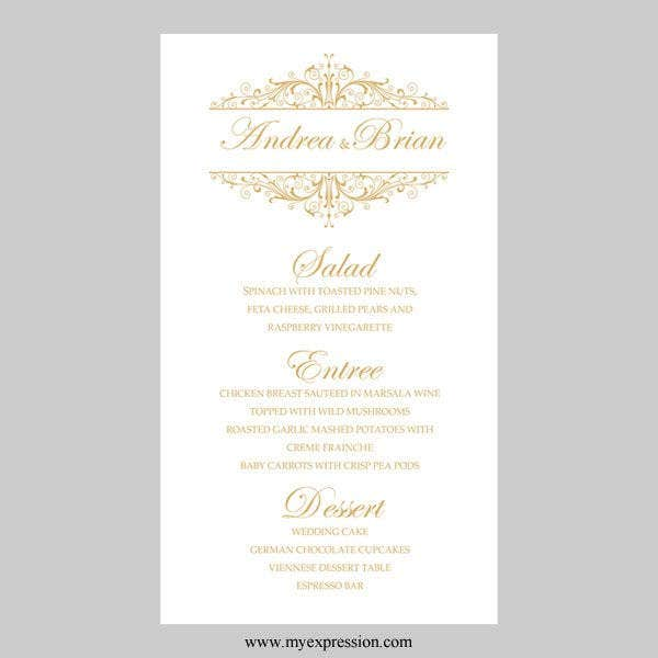 event-menu-card-template