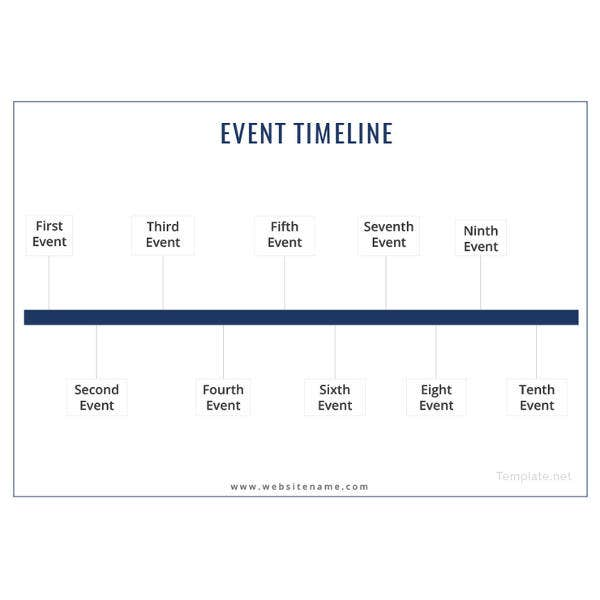 incroyable Event Timeline Template