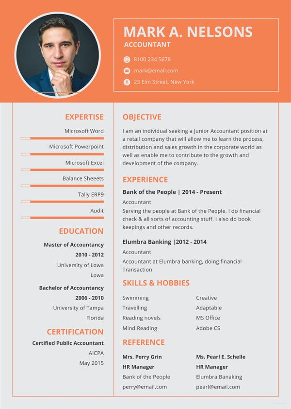 experienced-accountant-resume-template