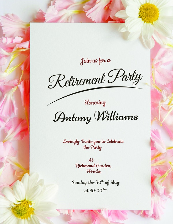 floral-retirement-party-invitation-template