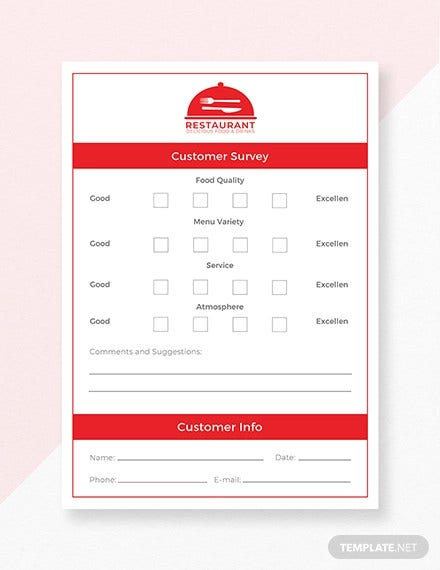 free comment card template1
