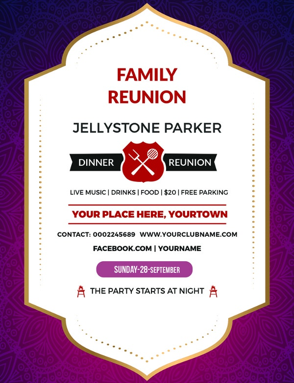 free-family-dinner-reunion-invitation-template