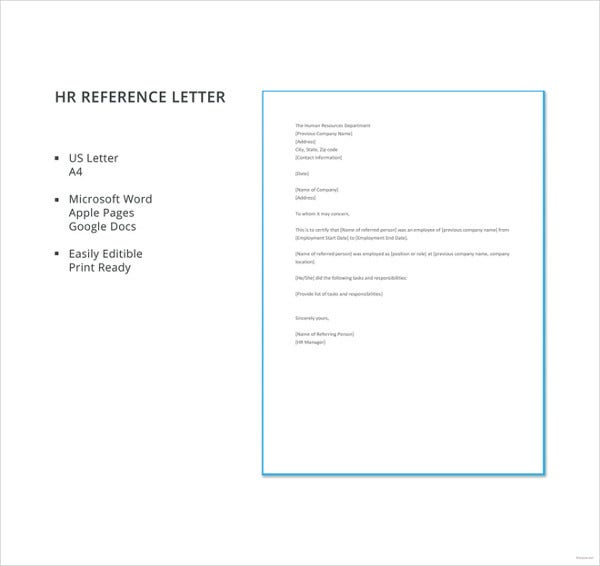 free-hr-reference-letter-template