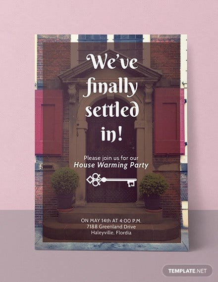 free housewarming party invitation