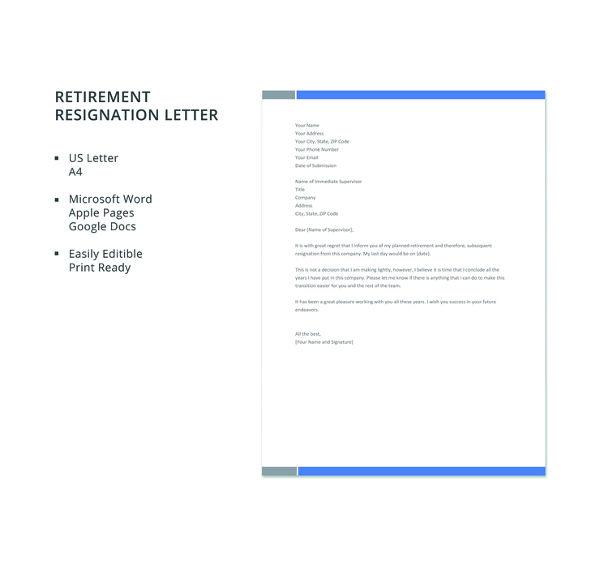 free-retirement-resignation-letter