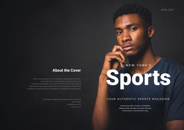 free-sports-magazine-template