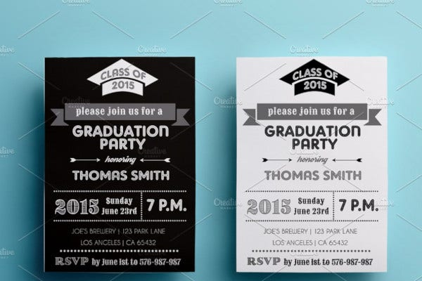 graduation party invitation2