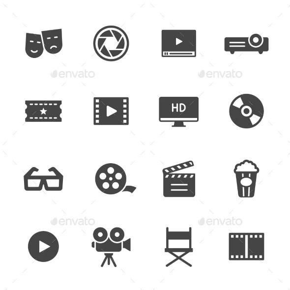 hd cinema icons