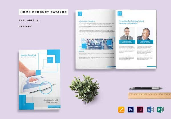 home-product-catalog-template