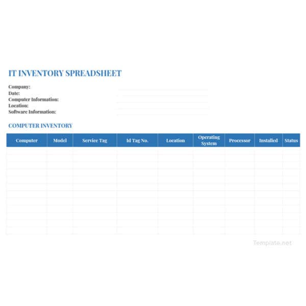 it-inventory-spreadsheet-template