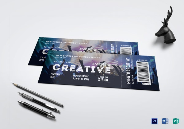 live-event-ticket-template