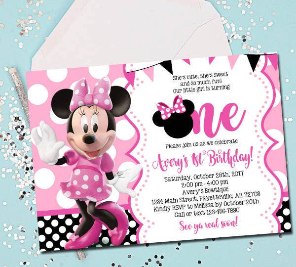 minnie-mouse-1st-birthday-invitation