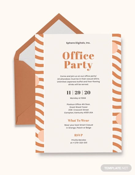 office party invitation template1