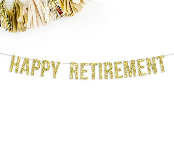outdoor retirement party banner1
