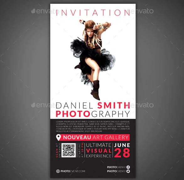 photography event invitation