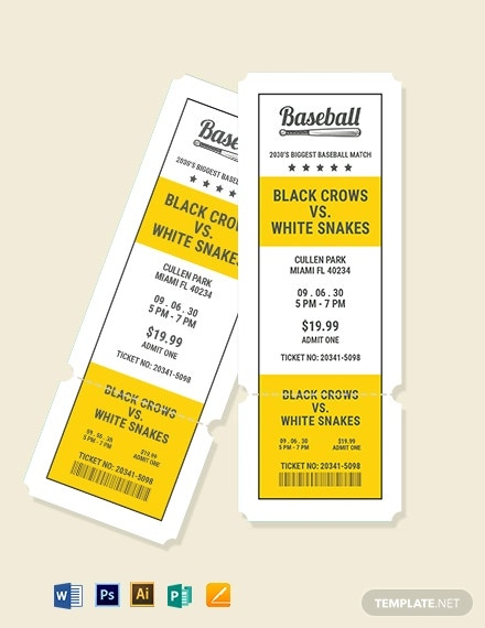 printable baseball ticket template1