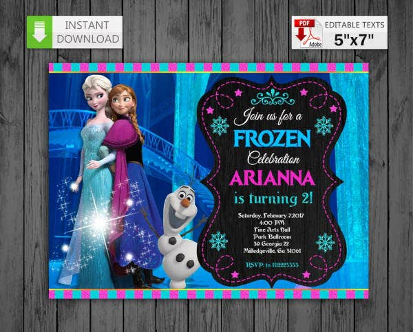 printable frozen birthday invitation1