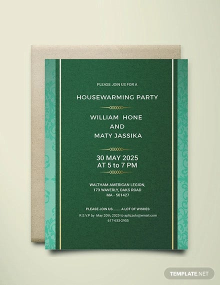 printable housewarming party invitation template