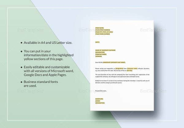 printable-letter-of-resignation-template
