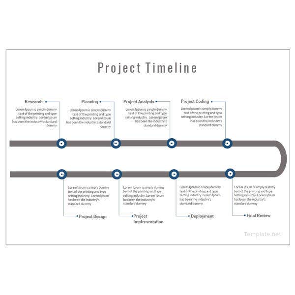 timeline template 67 free word excel pdf ppt psd format