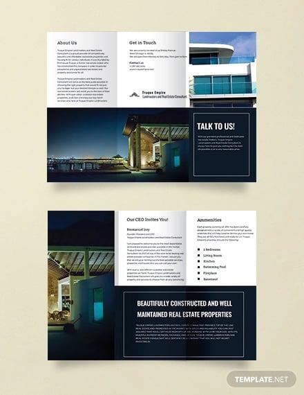 property sale brochure template