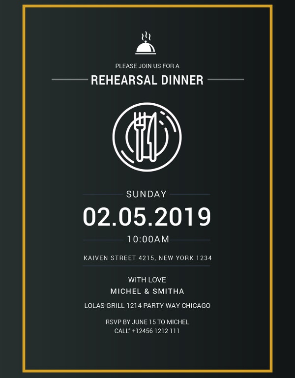 rehearsal dinner party invitation2