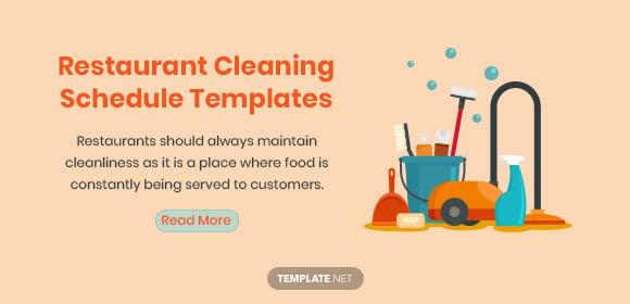 restaurantcleaningscheduletemplates