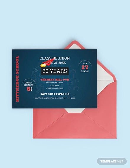 sample class reunion invitation template1