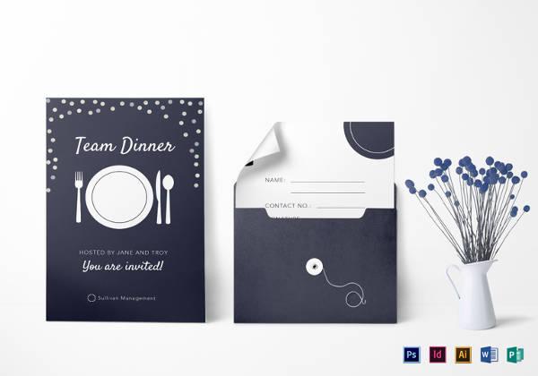 simple-team-dinner-invitation-template
