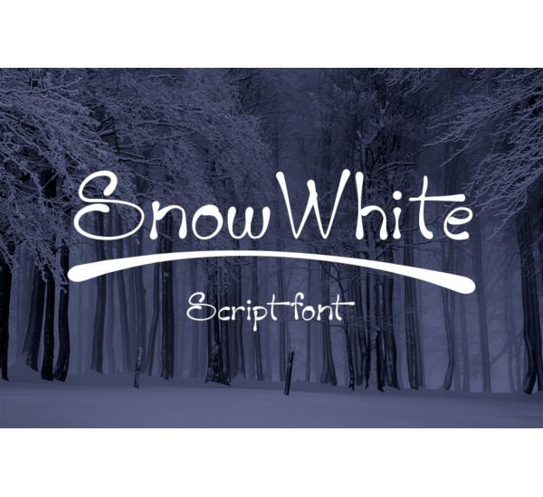 snow-white-font