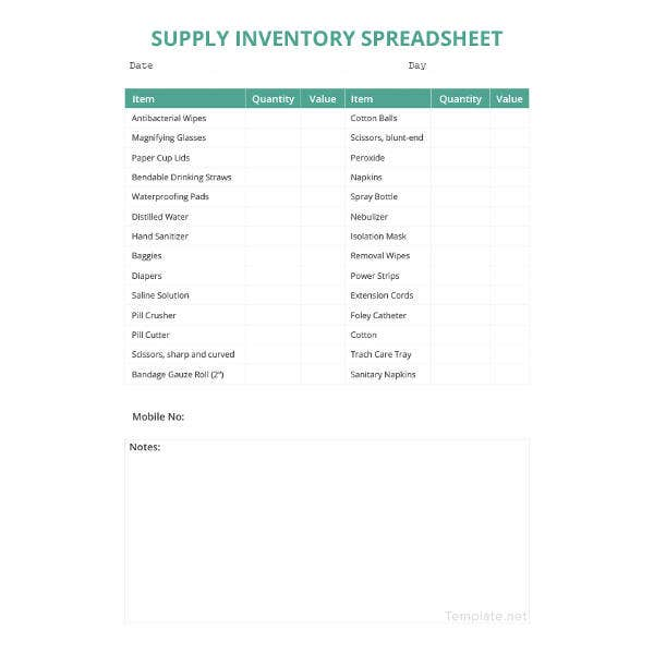 supply-inventory-spreadsheet-template