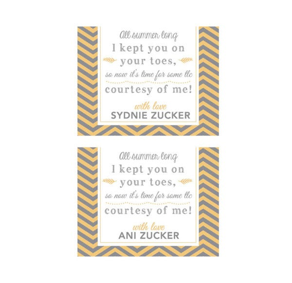 thank you gift tags template