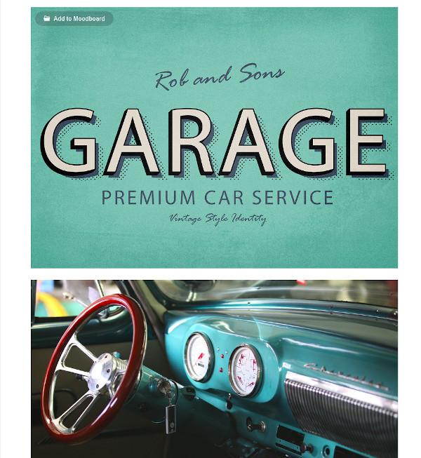 vintage car service logo1
