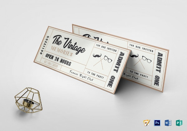 vintage-event-ticket-template