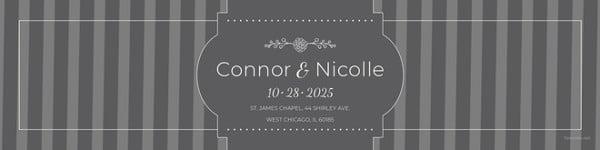 wedding water bottle label template1