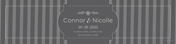 wedding water bottle label template2