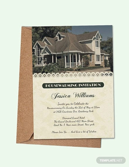 23 Housewarming Invitation Templates Psd Ai Free