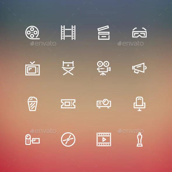 cinima icons