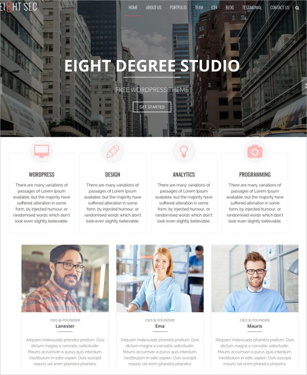 eight-sections-wordpress-theme