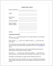 sample-nanny-contract-template