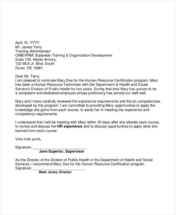 40  recommendation letter templates in pdf