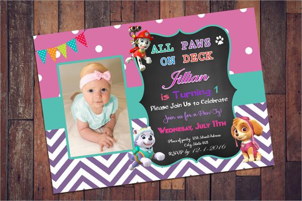 Free Birthday Invitation Card