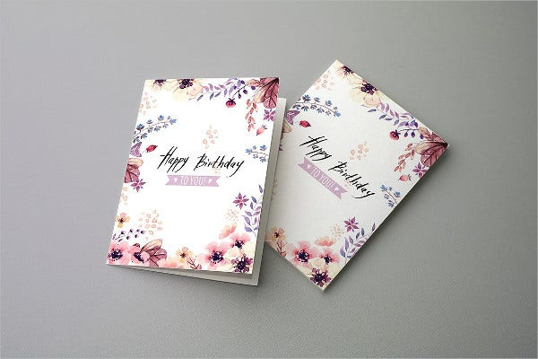 sample birthday invitation card