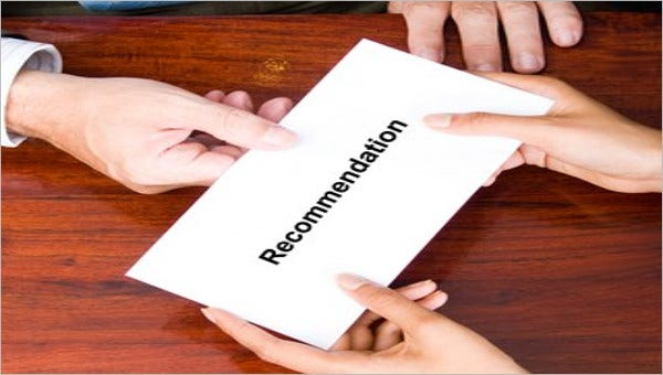 41 recommendation letter example templates