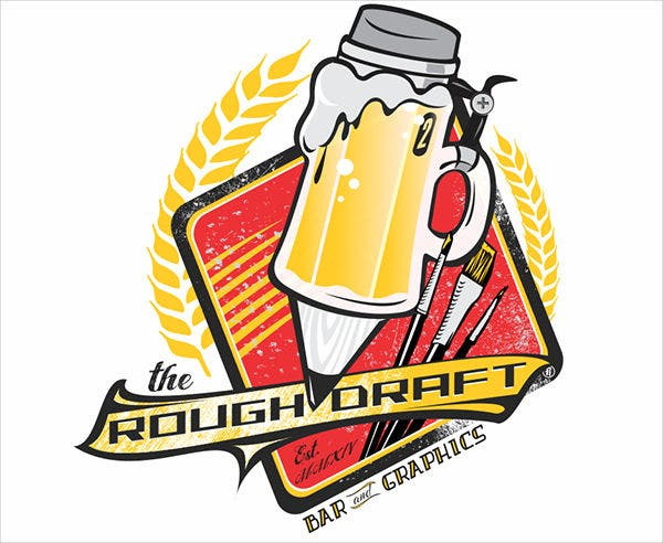 Rough Draft Bar Logo
