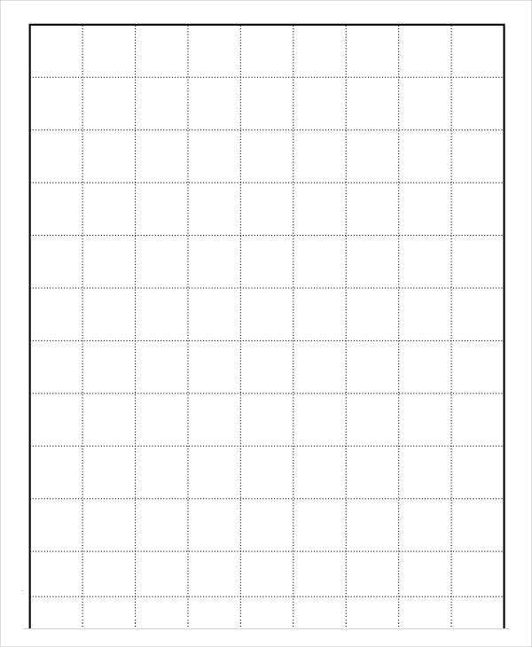 Blank Printable Grid Paper