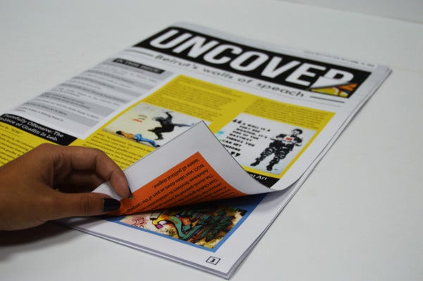 Uncover Advertising Newsletter
