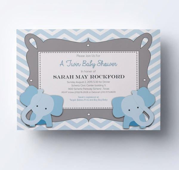 63 Unique Baby Shower Invitations Word Psd Ai Free Premium