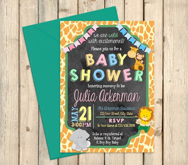 jungle-themed-twin-baby-shower-invitation