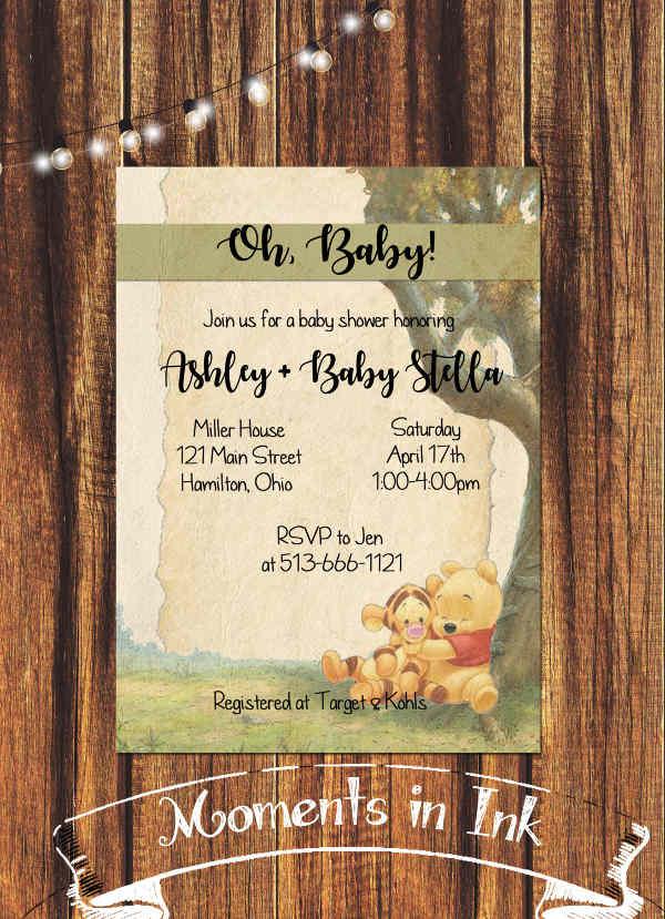 rustic-disney-baby-shower-invitation